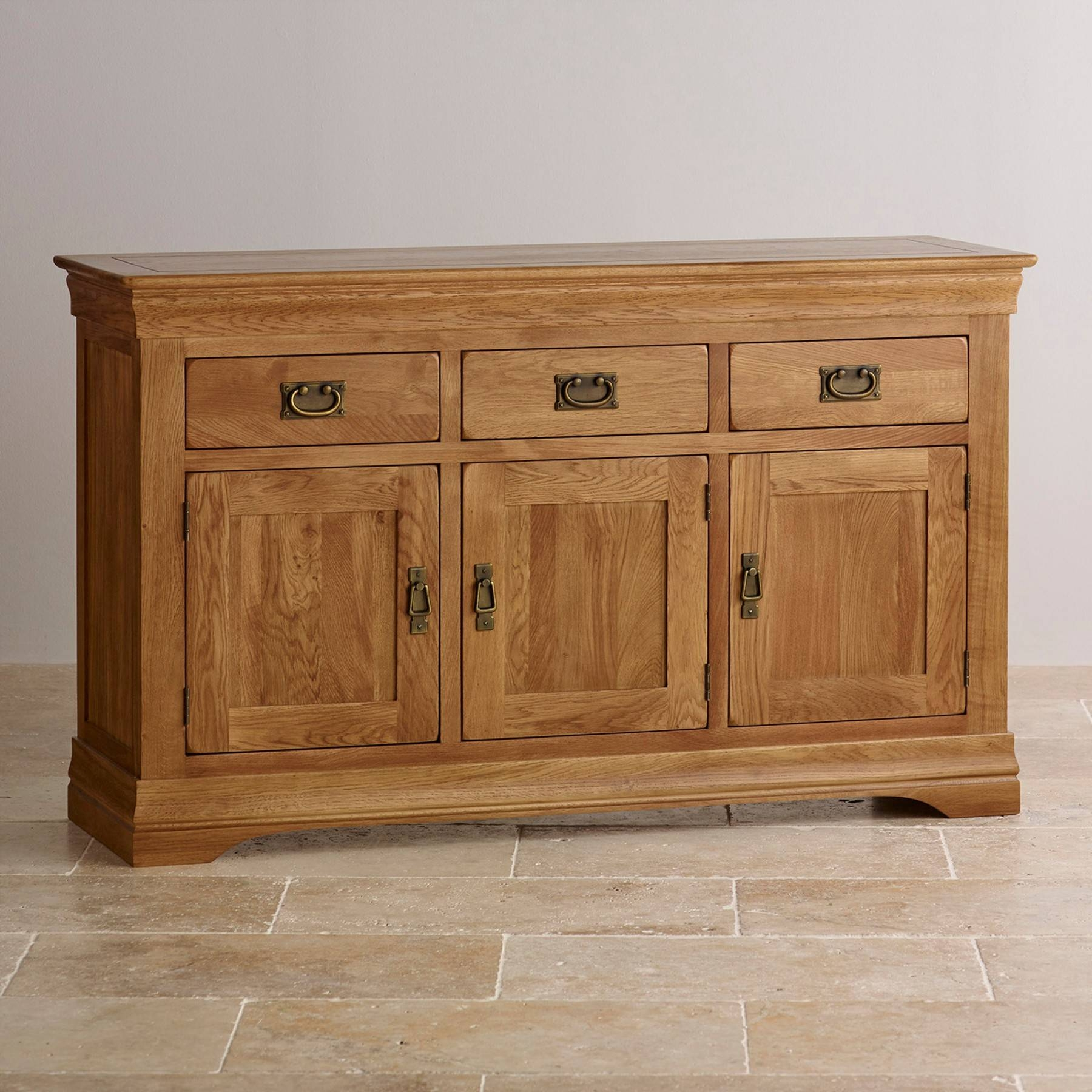 Sideboards | Oak, Mango And Painted | Oak Furniture Land Intended For Best And Newest Oak Furniture Land Sideboards (#14 of 15)
