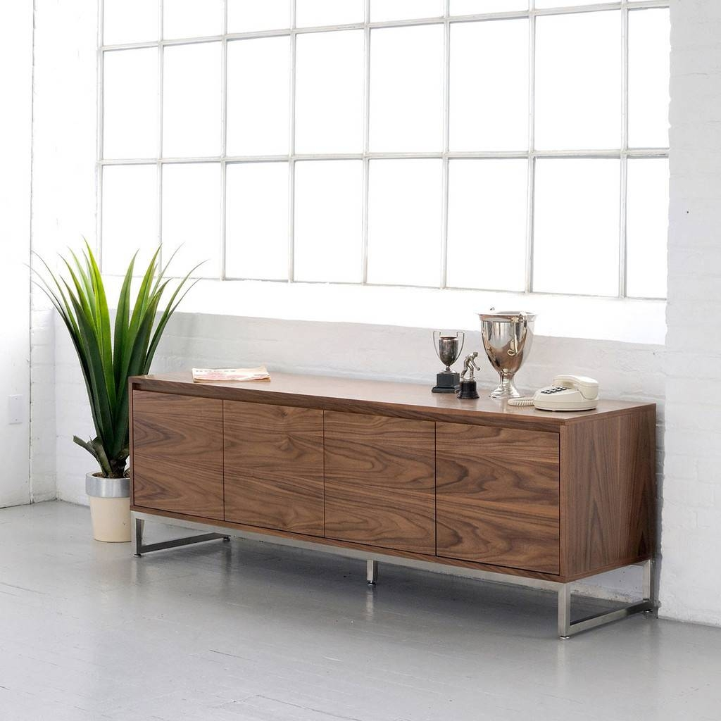 Sideboards: Stunning Credenza Modern Modern Credenza Furniture Pertaining To Most Current Extra Long Sideboards And Buffets (#14 of 15)