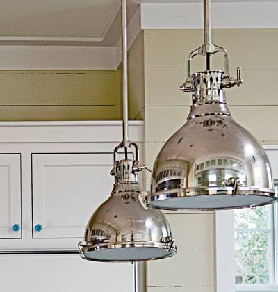 Popular Photo of Silver Kitchen Pendant Lighting