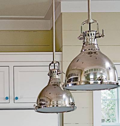 Popular Photo of Silver Kitchen Pendant Lighting