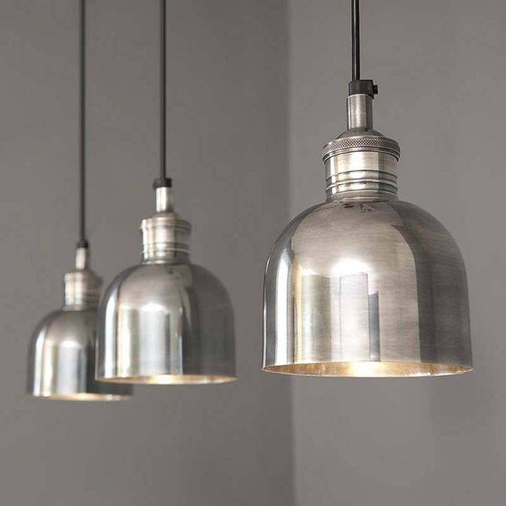 Silver Lantern Pendant Light Great Best 25 Lighting Ideas On With Regard To Newest Silver Kitchen Pendant Lighting (View 4 of 15)