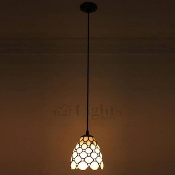 Simple Modern Tiffany Style Mini Pendant Lighting Regarding Most Up To Date Tiffany Style Pendant Light Fixtures (#13 of 15)