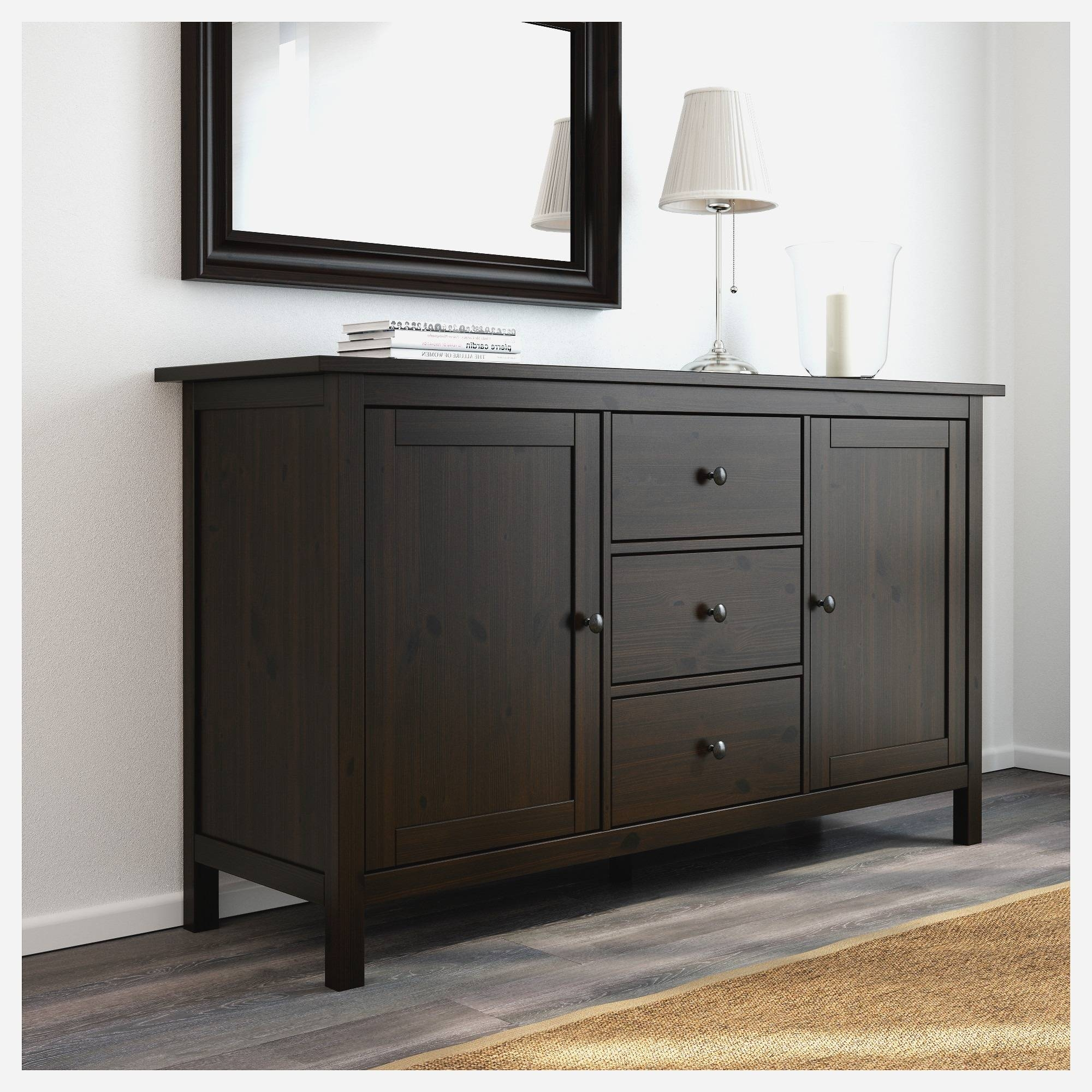 Small Buffets And Sideboards: Small Buffets And Sideboards Most Inside Latest Black Brown Sideboards (#15 of 15)