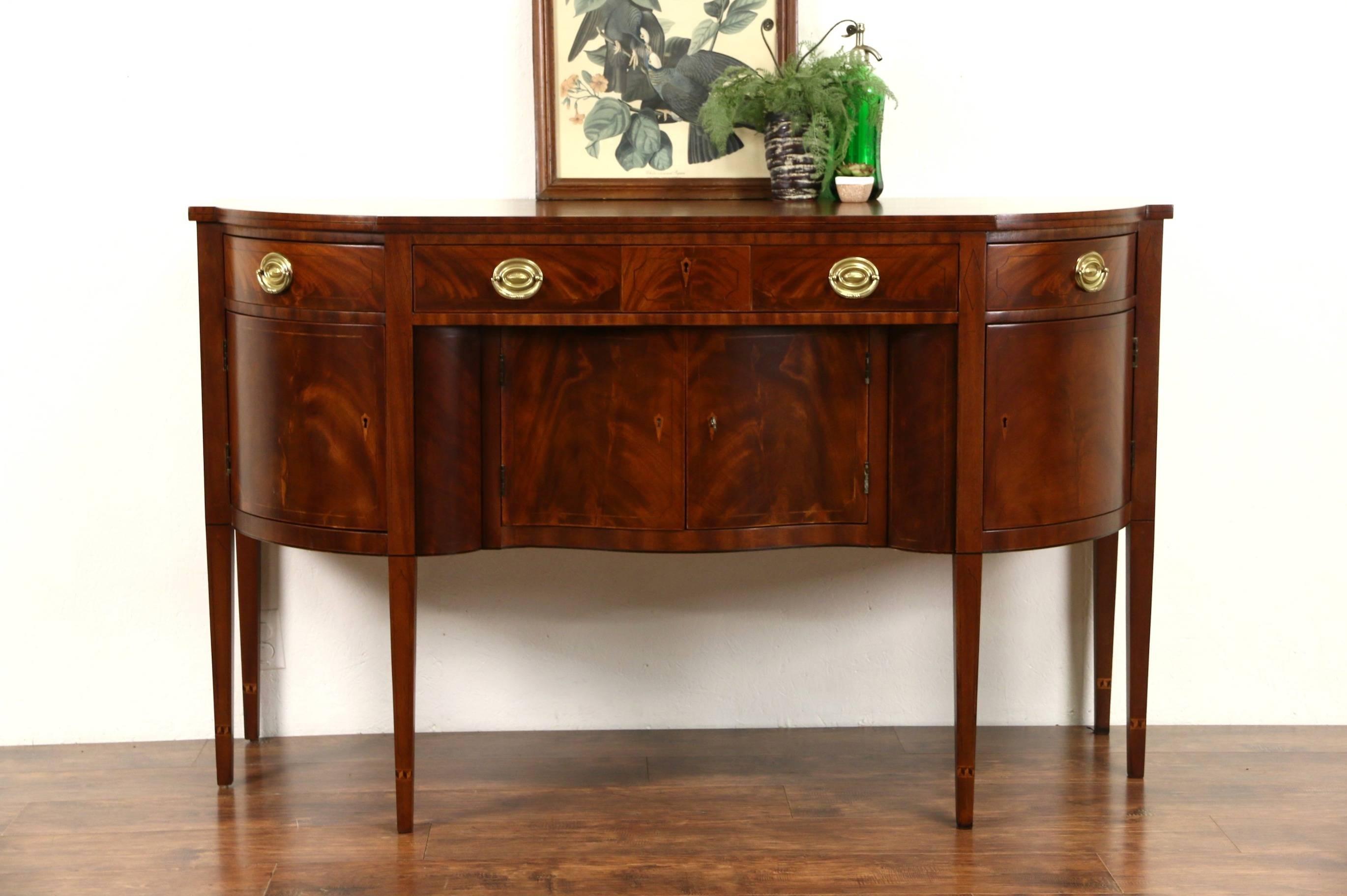 Sold – Henredon Natchez Collection Vintage Mahogany Sideboard With Regard To Most Recent Mahogany Sideboards Buffets (#14 of 15)