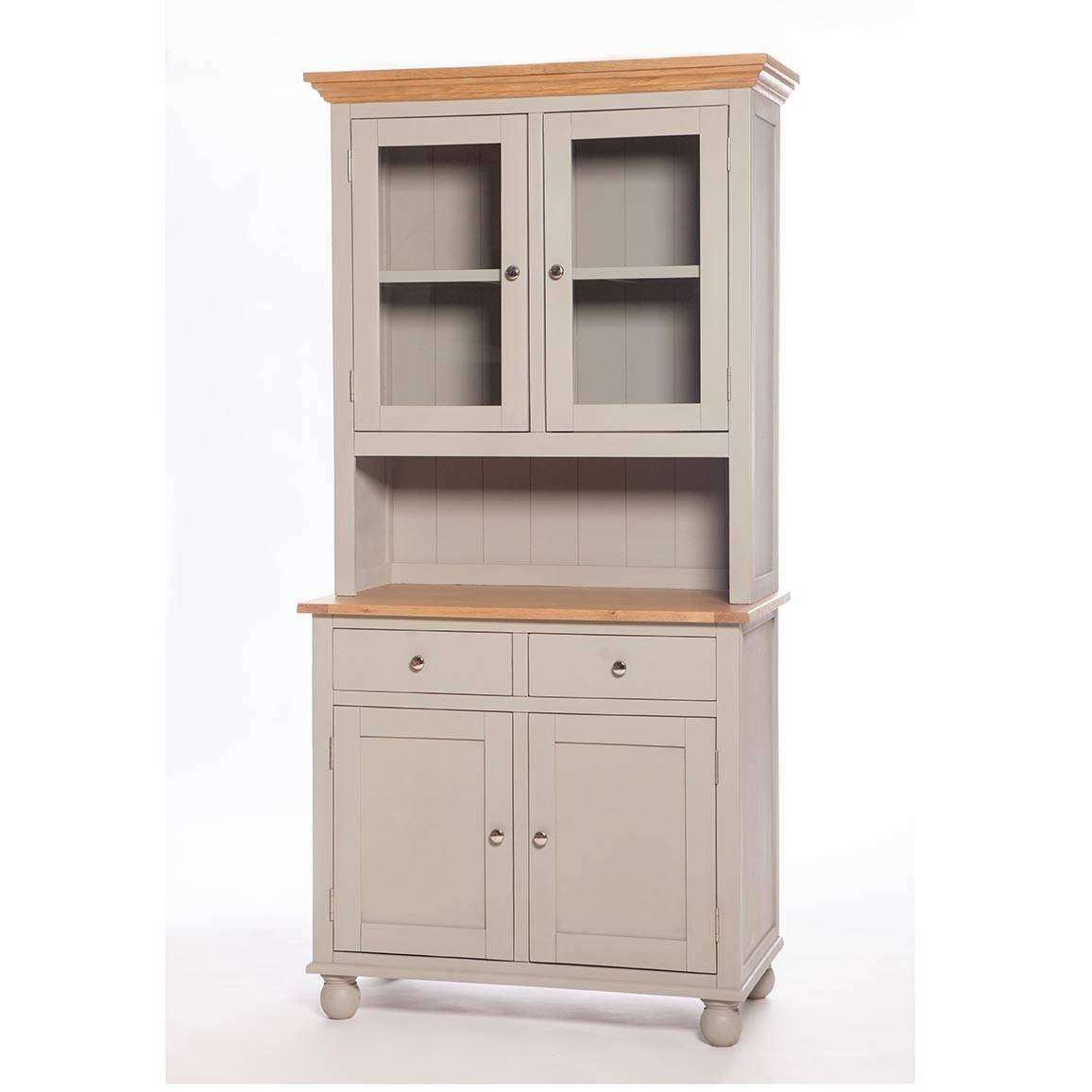 Somerset Small Kitchen Dresser | Woodlands Furniture Within Recent Narrow Kitchen Sideboards (#14 of 15)
