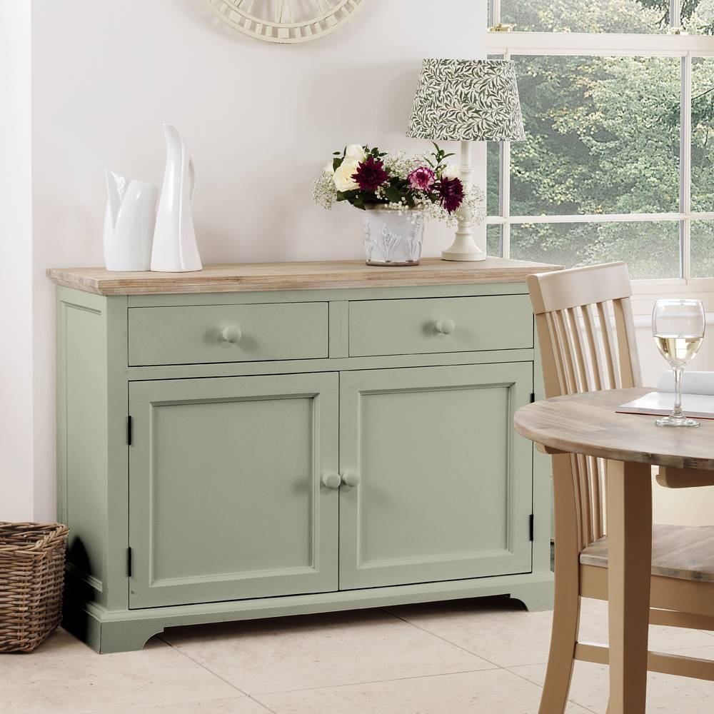 Stunning Florence Sideboard In Sage Green, Quality Large Cupboard Inside Recent Sage Green Sideboards (#15 of 15)