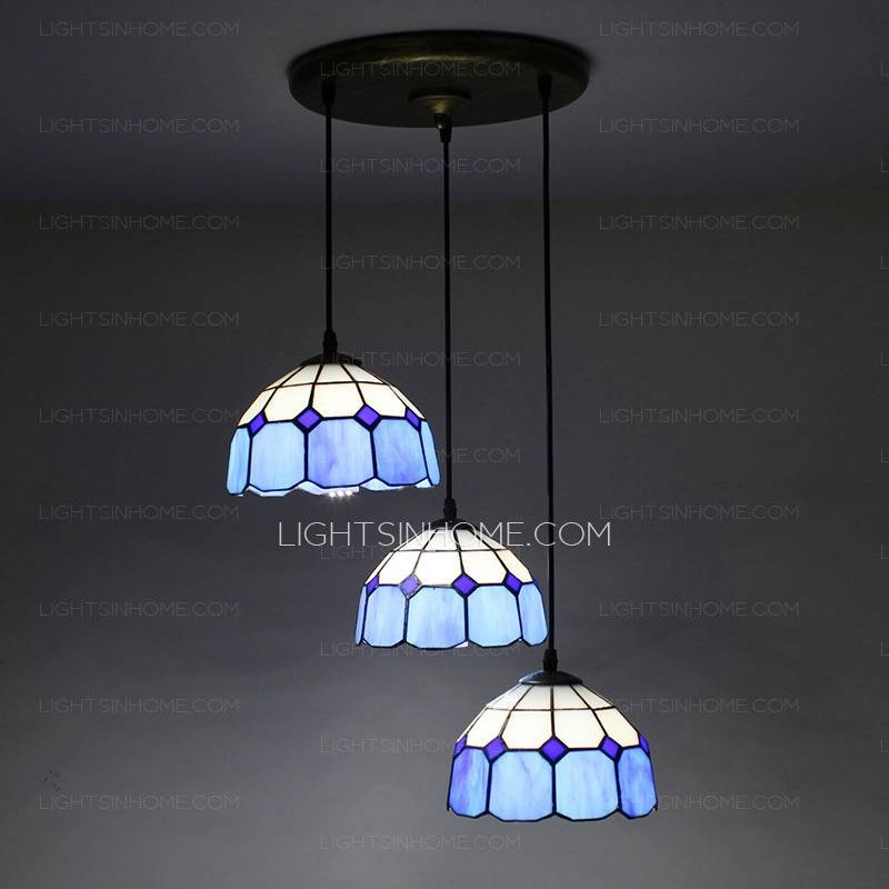 Style Mini Pendant Lights With 3 Light Circular Ceiling Plate In 2018 Pendant Lights For Ceiling Plate (#15 of 15)