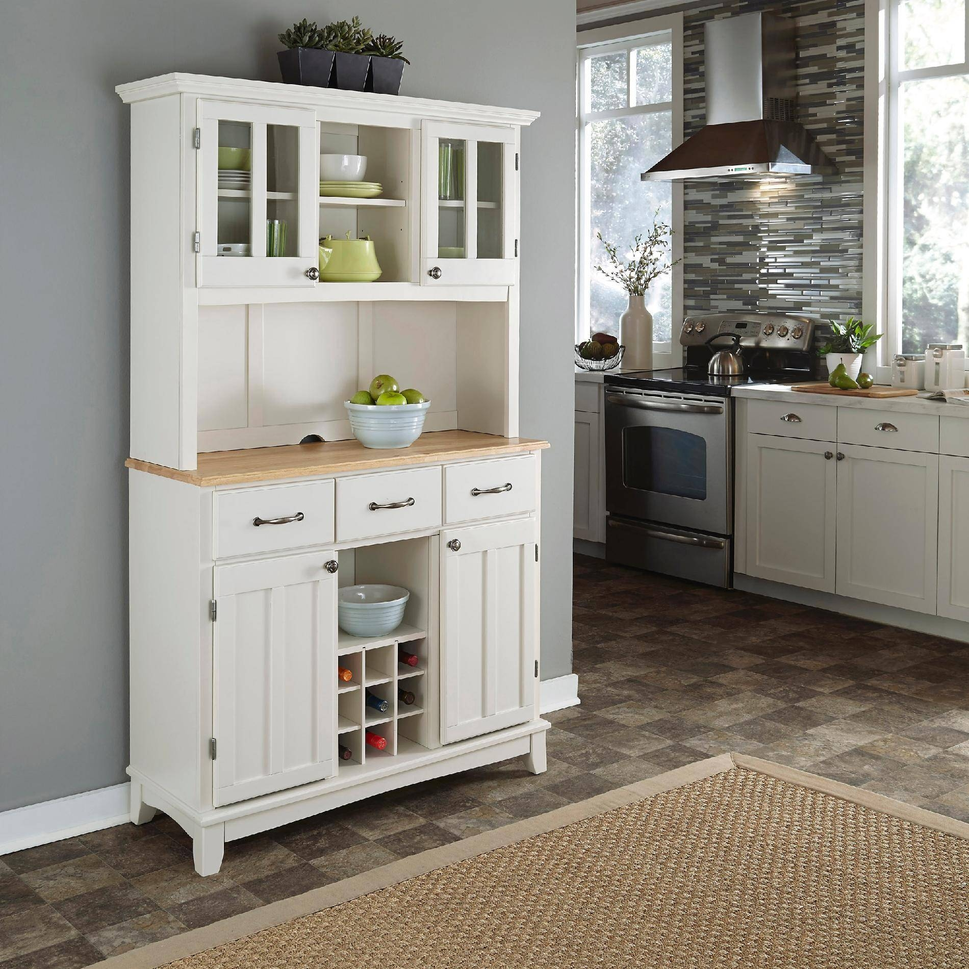 Stylish Dining Room Buffet Hutch — Rocket Uncle Rocket Uncle Within Latest Sideboards And Hutches (View 13 of 15)
