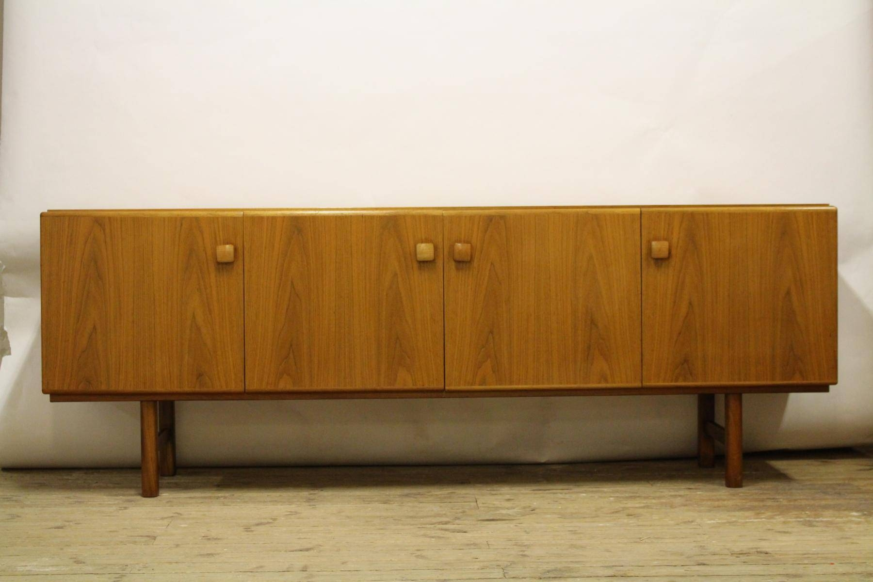 Swedish Walnut Sideboard From Ab Carlsson, 1960S For Sale At Pamono Within 2018 Walnut Sideboards (#11 of 15)