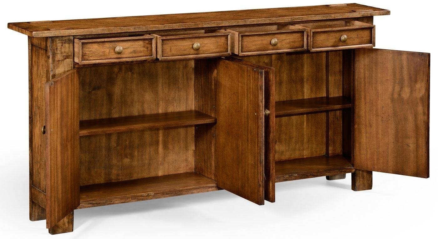 Inspiration about Tall Sideboard Cabinet White Kitchen Buffet Cabinet Sideboards And For Most Recent Slim Kitchen Sideboards (#7 of 15)