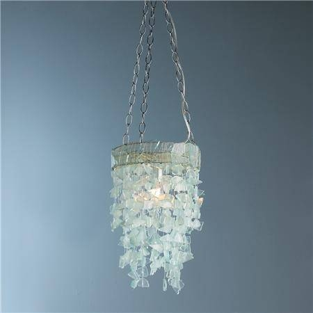 The Most Amazing Sea Glass Pendant Light Intended For Your Own For Best And Newest Sea Glass Pendant Lights (#15 of 15)