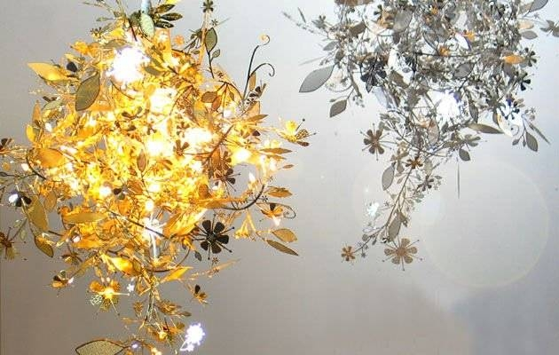 The Most Awesome As Well Beautiful Flower Pendant Light Pertaining With Regard To Recent Flower Pendant Lights (#13 of 15)