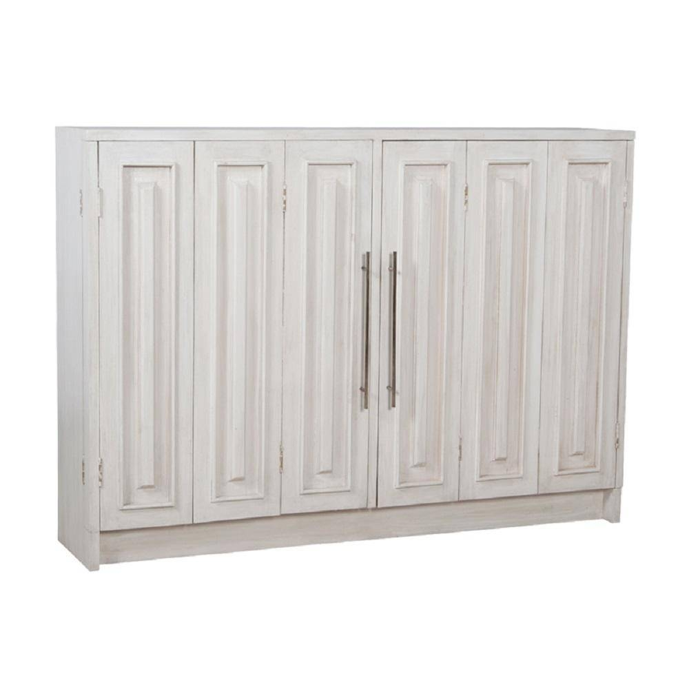 Titan Lighting Parsons Manor White Wash Buffet With 2 Doors Tn With Best And Newest Whitewash Buffets Sideboards (#14 of 15)