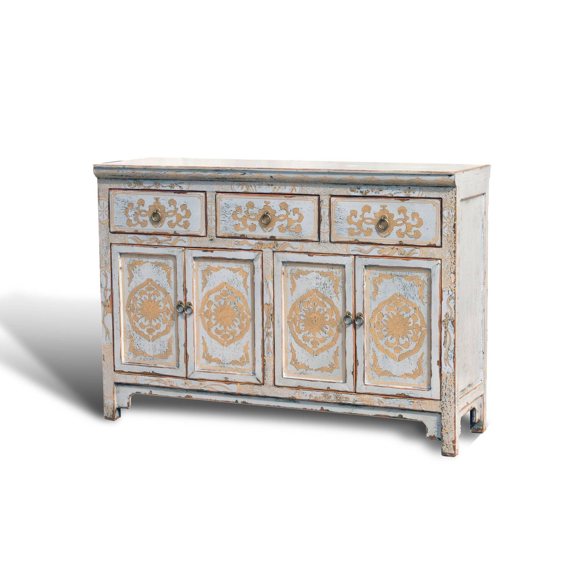 "Inspiration about Touch Of Exotic"" Painted Buffet – Acf China For Recent Painted Sideboards And Buffets (#12 of 15)"