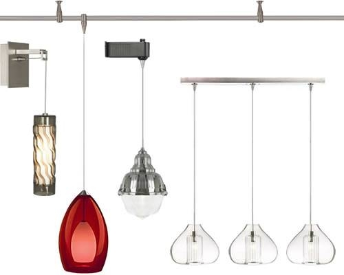 Popular Photo of Pendant Lighting For Track Systems
