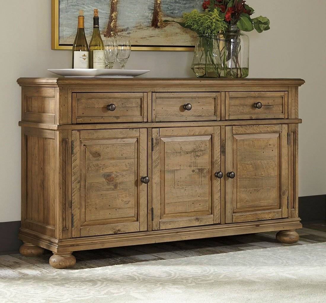 Trishley Server – Buffets, Sideboards And Servers – Dining Room Regarding Most Recently Released Server Sideboard Furniture (#15 of 15)