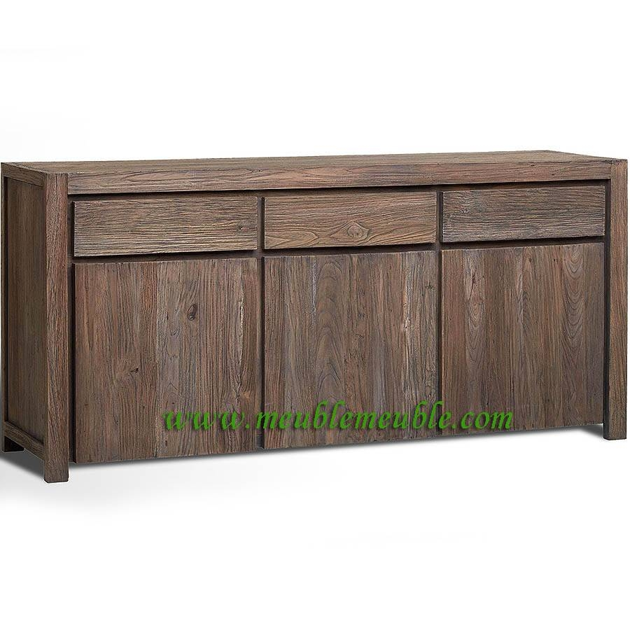 Inspiration about Uncategorized : Reclaimed Wood Sideboard With Impressive Reclaimed Intended For Most Recently Released Reclaimed Sideboards (#8 of 15)