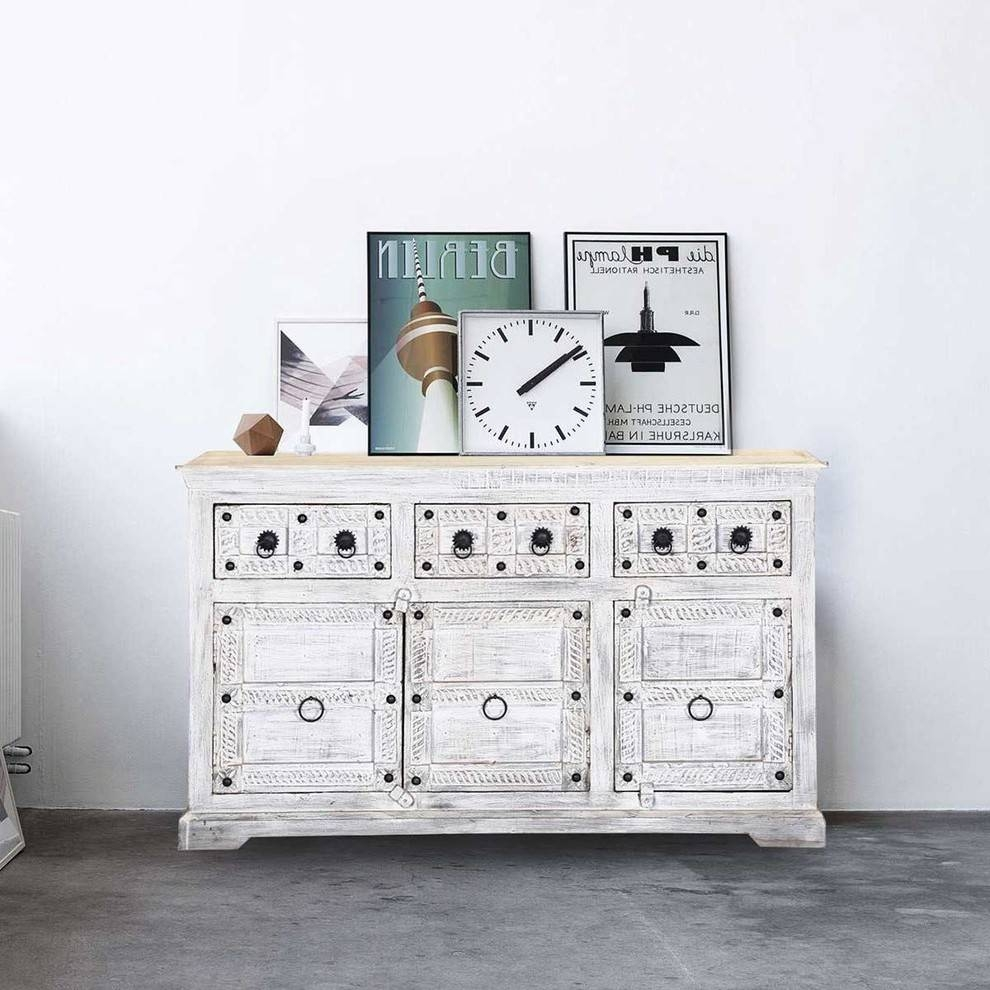 Inspiration about United States Reclaimed Wood Sideboard Spaces Rustic With Pertaining To 2017 Eclectic Sideboards (#7 of 15)
