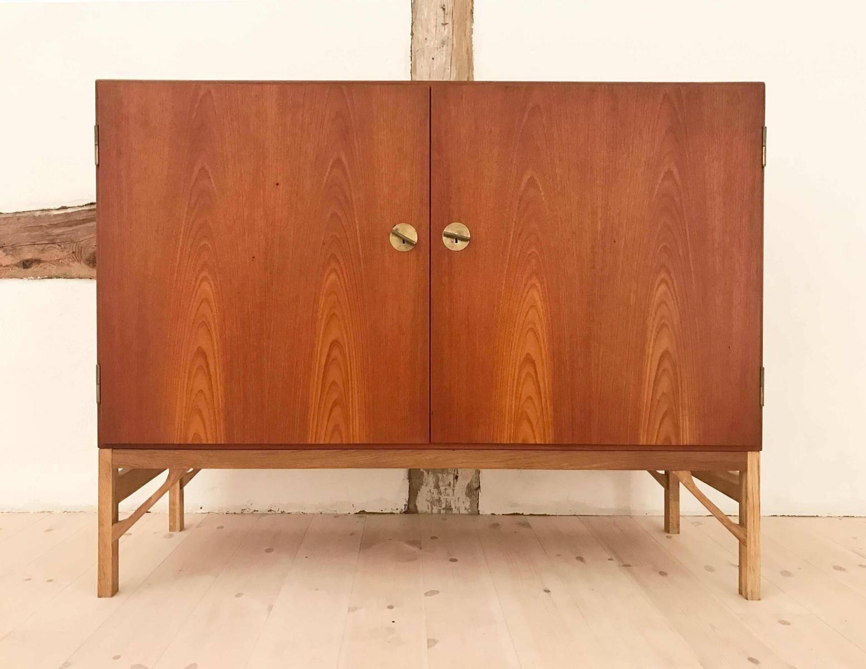 Inspiration about Vintage Danish Teak Sideboard With 2 Doorsbørge Mogensen For In Recent Danish Retro Sideboards (#13 of 15)