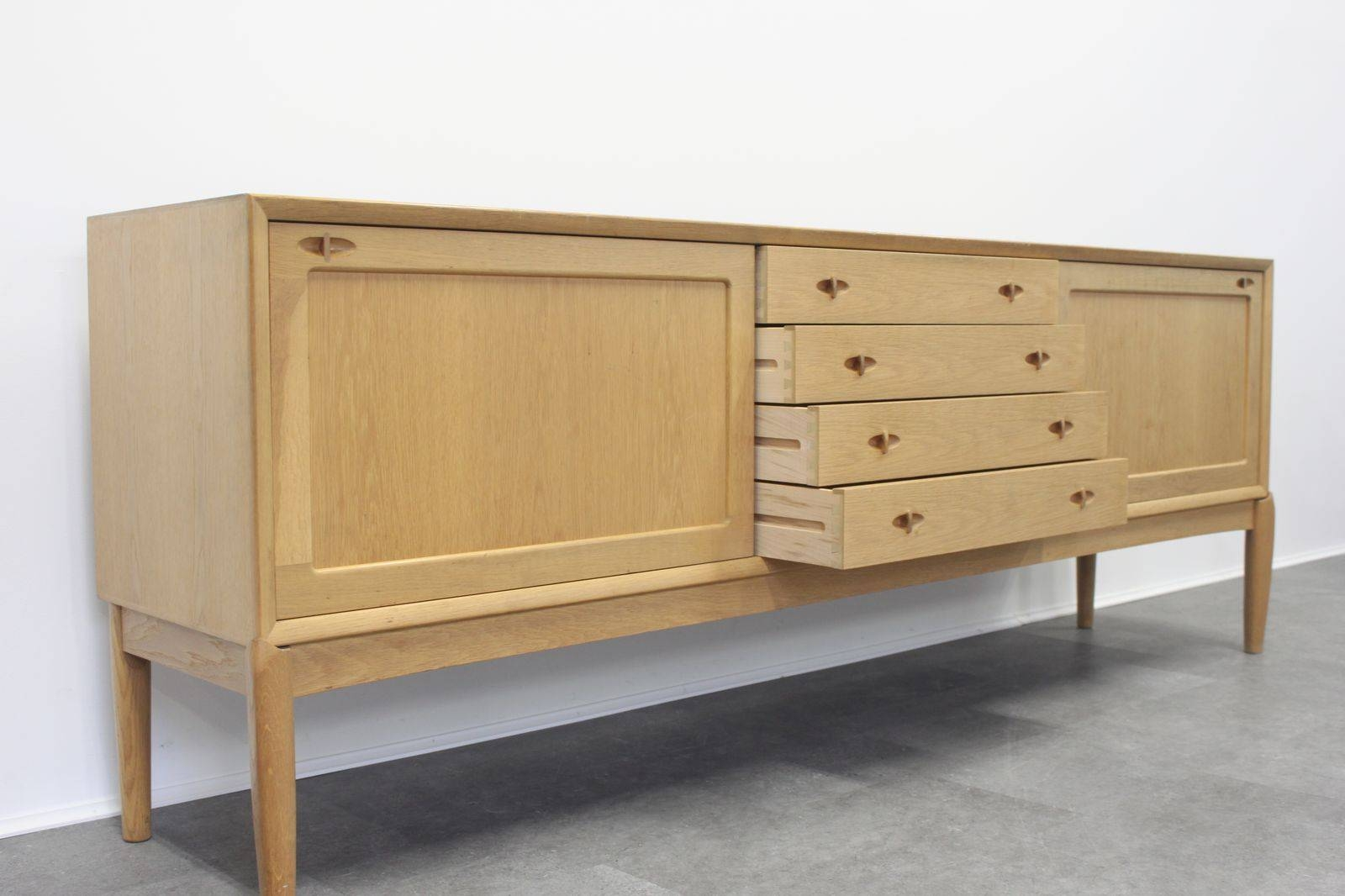 Inspiration about Vintage Oak Sideboardh.w. Klein For Bramin For Sale At Pamono Within Most Current Cheap Oak Sideboards (#12 of 15)