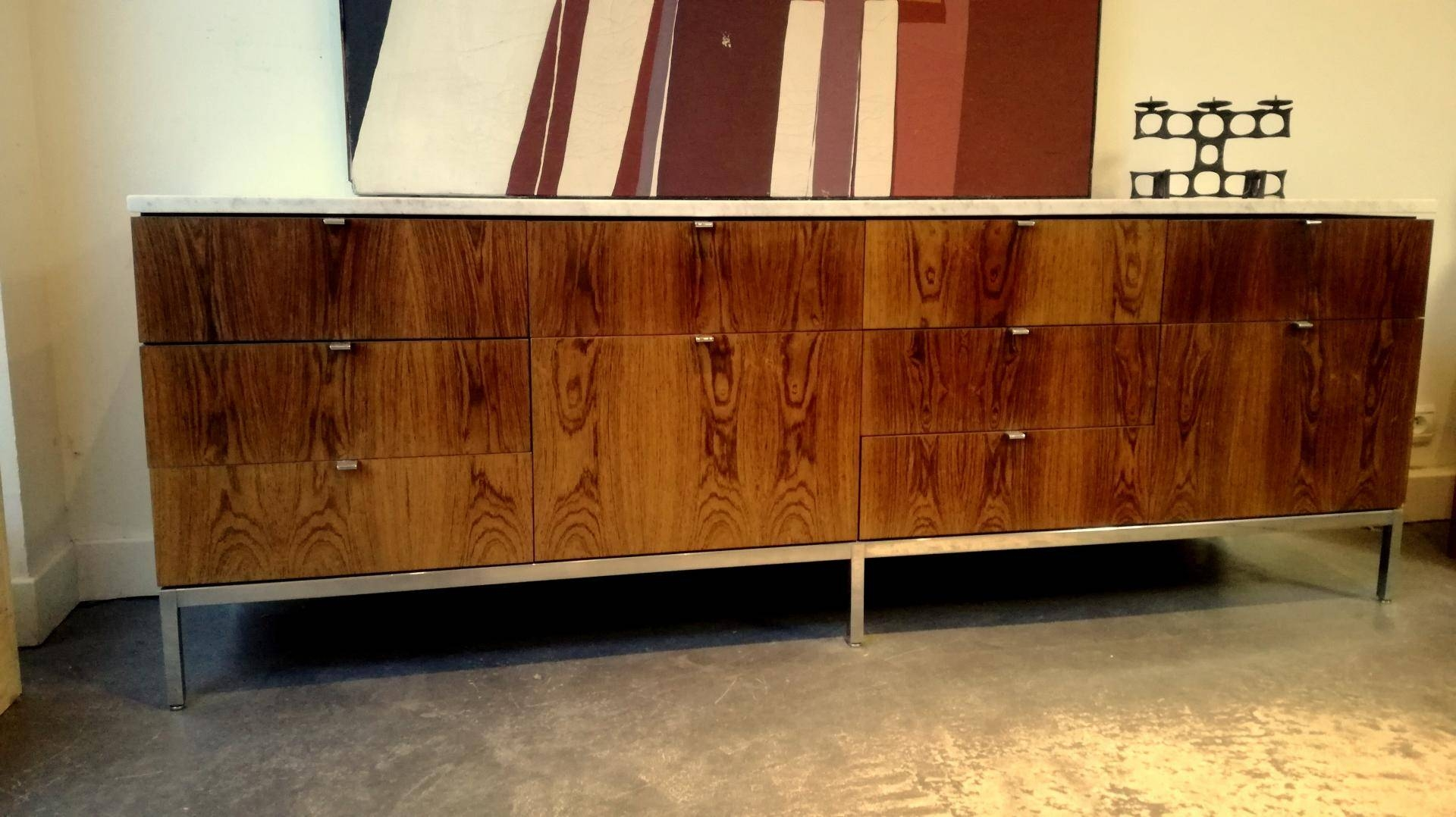 Vintage Palisander Sideboardflorence Knoll For Sale At Pamono For 2017 Knoll Sideboards (#14 of 15)