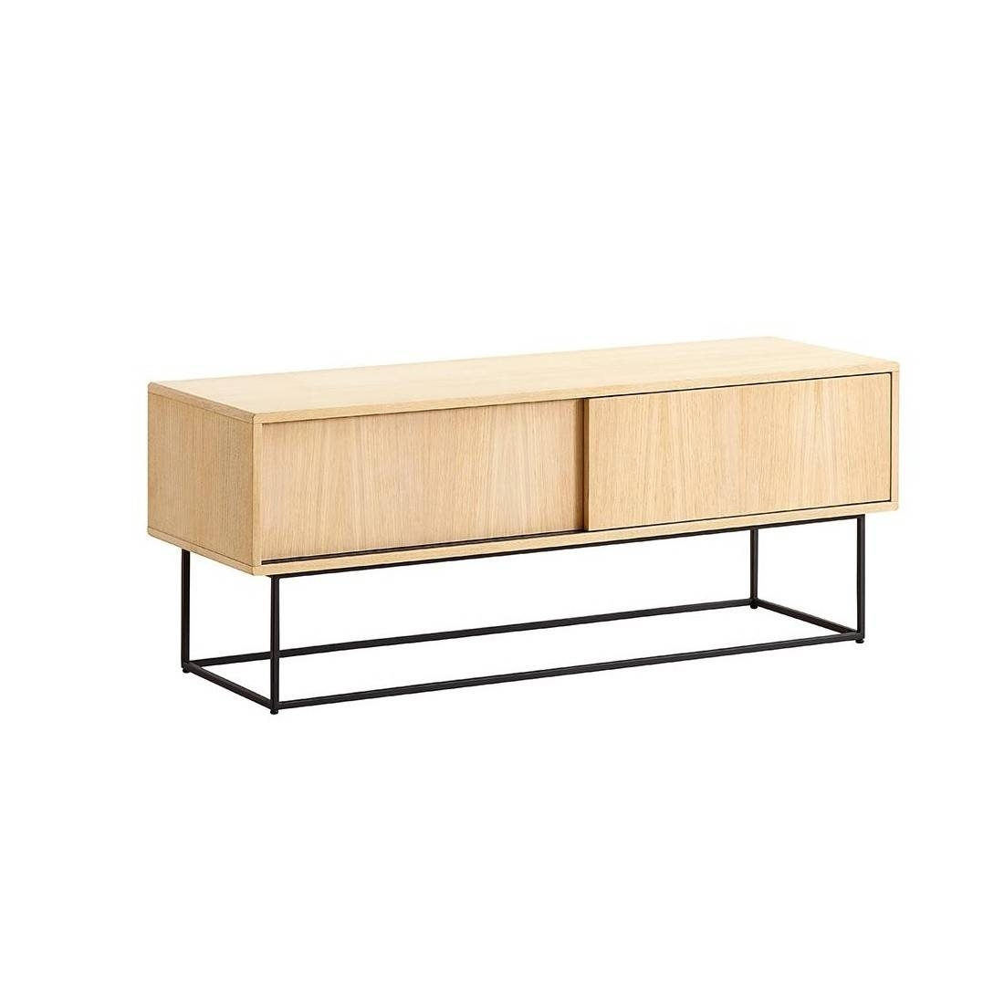 Virka Low Sideboard | Woud | Ambientedirect In Most Up To Date Small Low Sideboards (#15 of 15)
