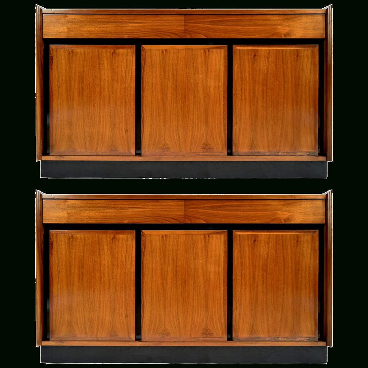 Inspiration about Viyet – Designer Furniture – Storage – Dillingham Vintage Partial Inside Latest Walnut Sideboards (#11 of 15)