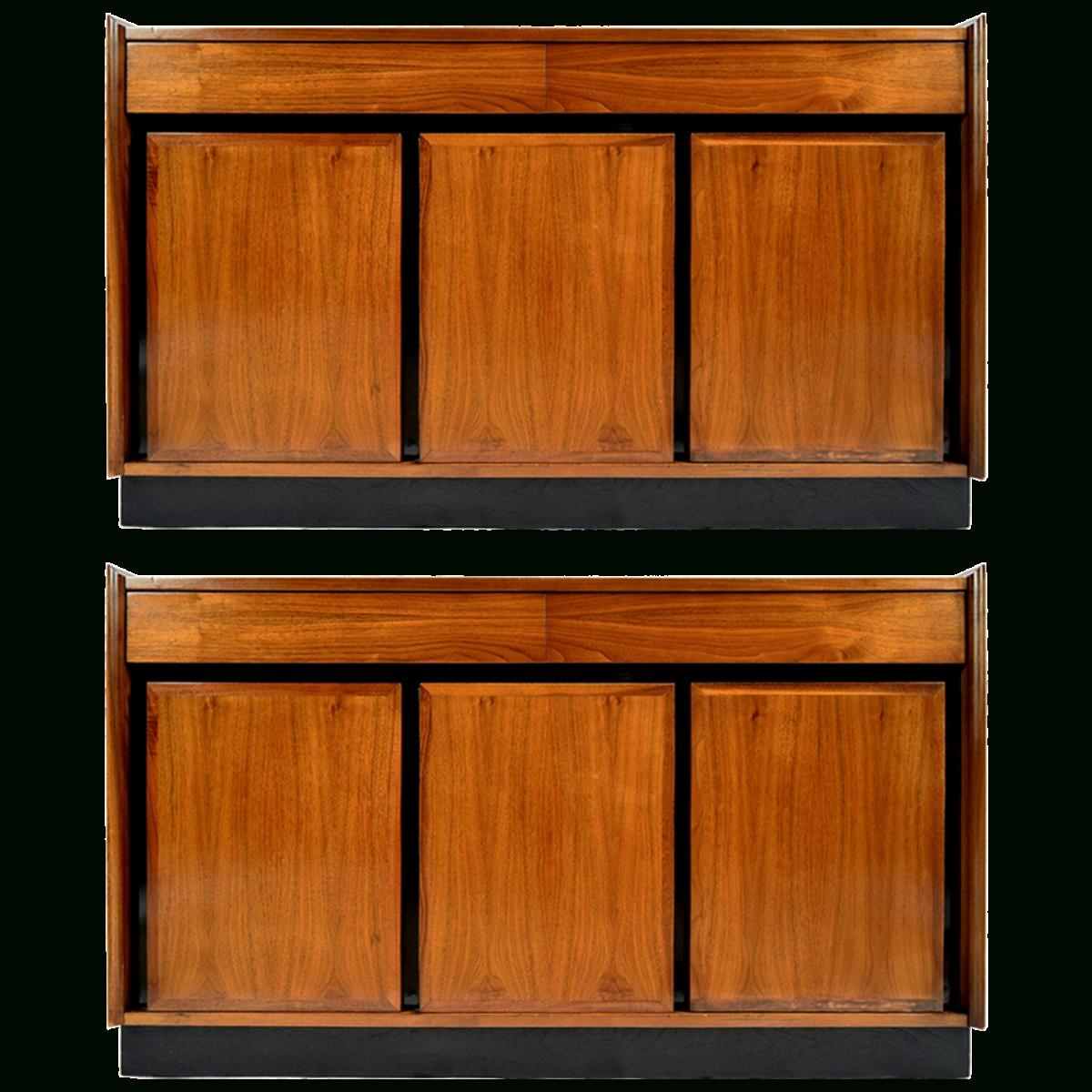 Viyet – Designer Furniture – Storage – Dillingham Vintage Partial Inside Latest Walnut Sideboards (View 11 of 15)