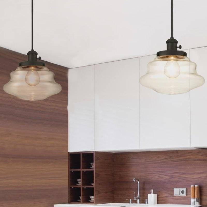 Westinghouse Lighting 1 Light Schoolhouse Pendant & Reviews | Wayfair With Most Popular Schoolhouse Pendant Lights (#14 of 15)