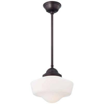 White – Bronze – Schoolhouse – Pendant Lights – Lighting – The Within Most Current Schoolhouse Pendant Lights (#15 of 15)