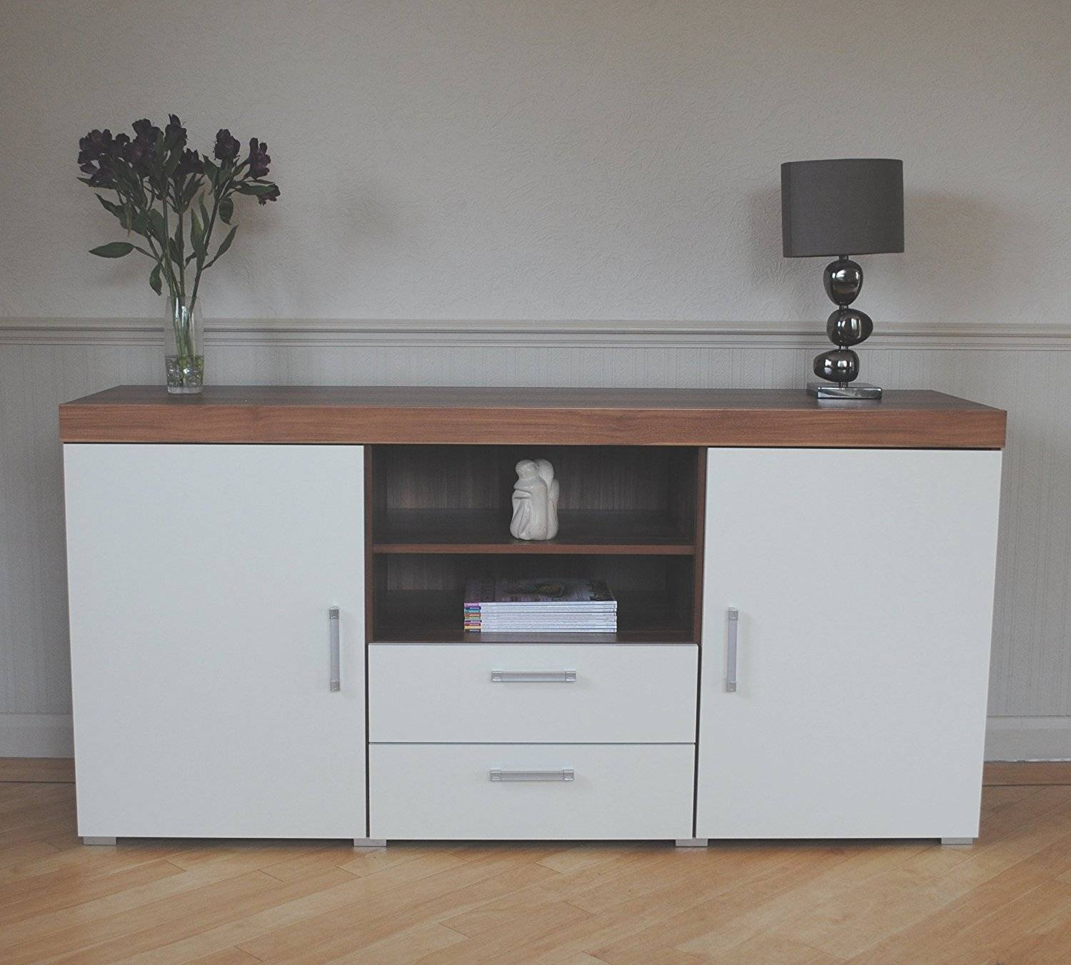 15 best collection of sideboards and tv units. Black Bedroom Furniture Sets. Home Design Ideas
