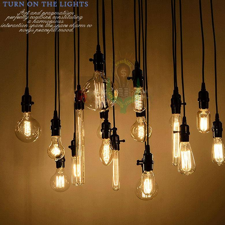 Wholesale Edison Antique Bulb Pendant Lamps Diy Nostalgic Vintage With Regard To Newest Edison Bulb Pendant Lights (#15 of 15)