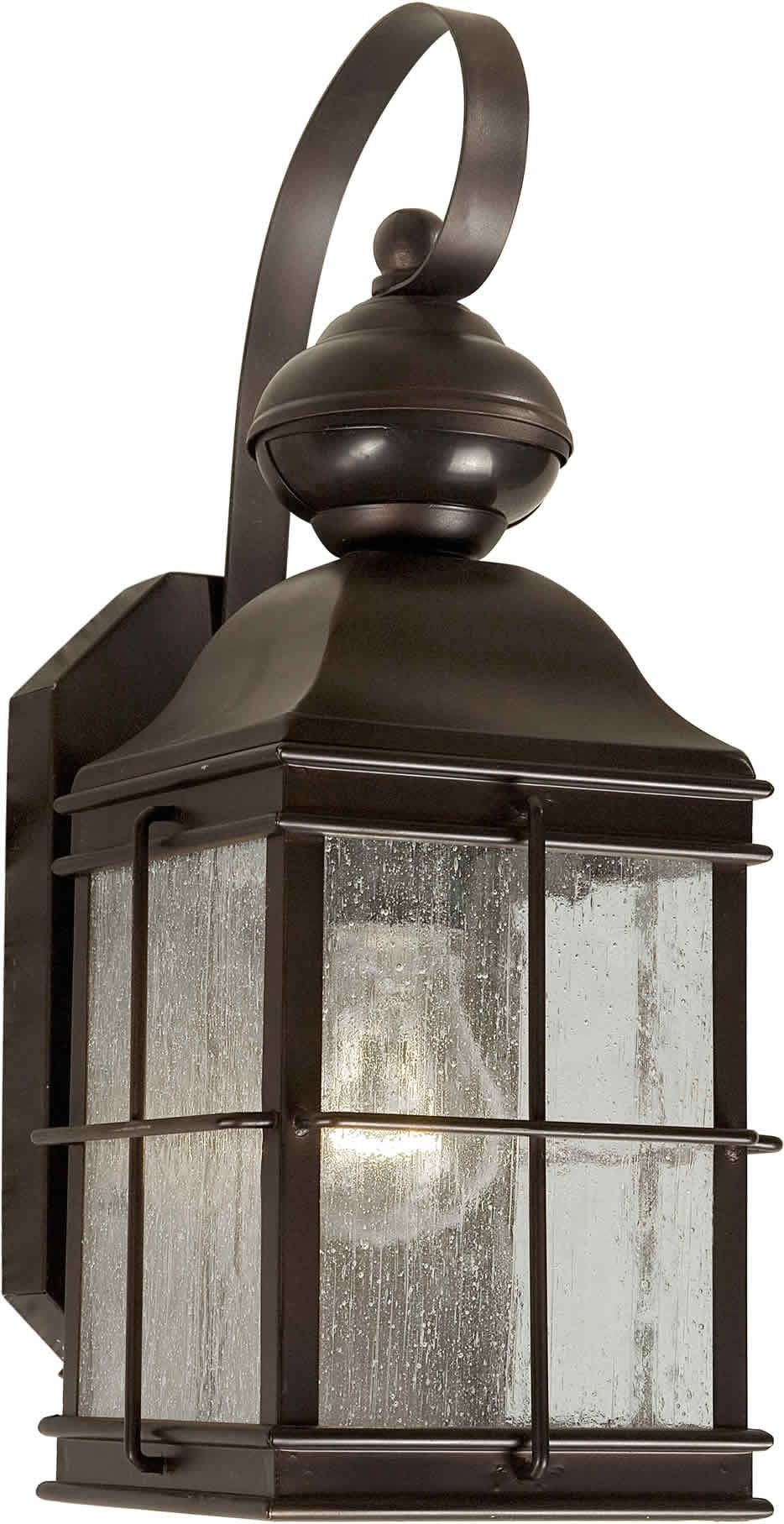 Inspiration about 1 Light Outdoor Wall Lantern | Outdoor Wall Lantern, Outdoor Walls With Outdoor Wall Lighting At Wayfair (#14 of 15)