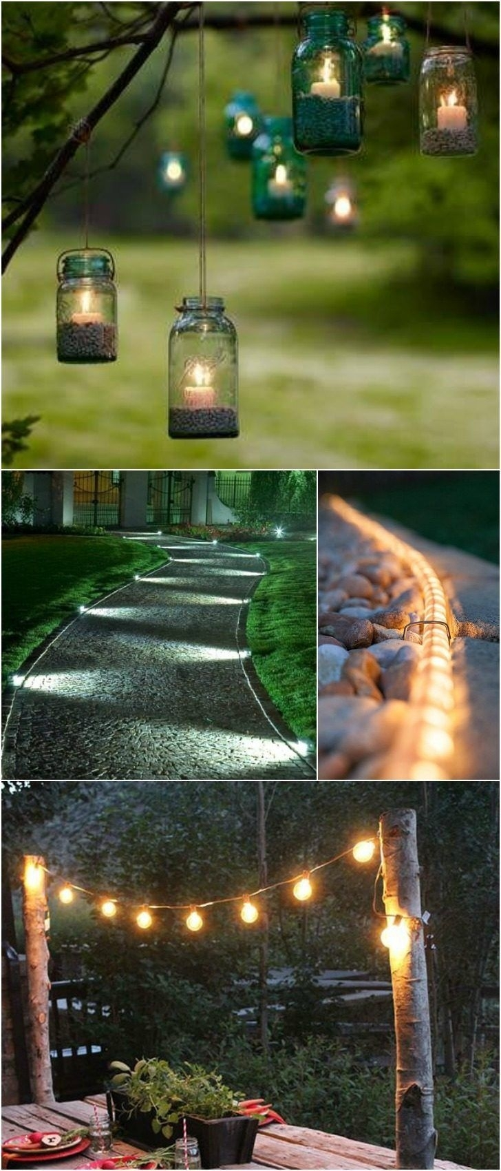 Inspiration about 10 Outdoor Lighting Ideas For Your Garden Landscape. #5 Is Really Within Outdoor Hanging Tree Lights (#15 of 15)