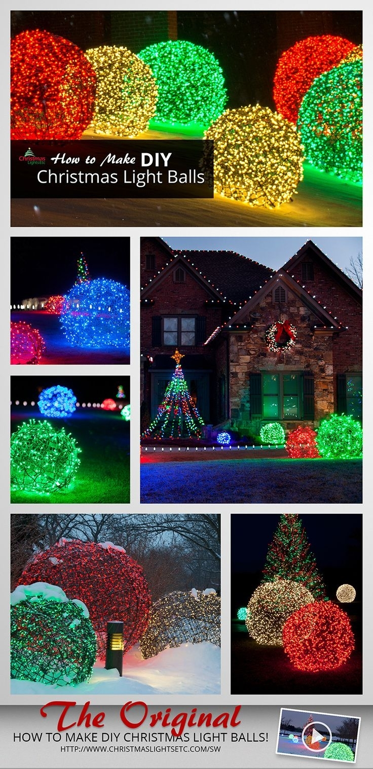 Inspiration about 114 Best Mini Lights Ideas Images On Pinterest | Christmas Decor Regarding Outdoor Wall Xmas Lights (#12 of 15)