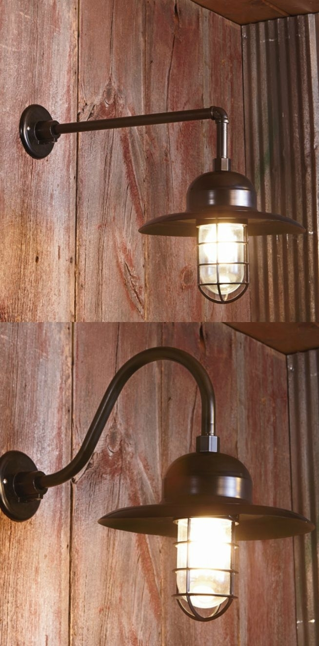 Inspiration about 128 Best Barn Lights Images On Pinterest   Exterior Lighting In Outdoor Wall Mounted Accent Lighting (#7 of 15)