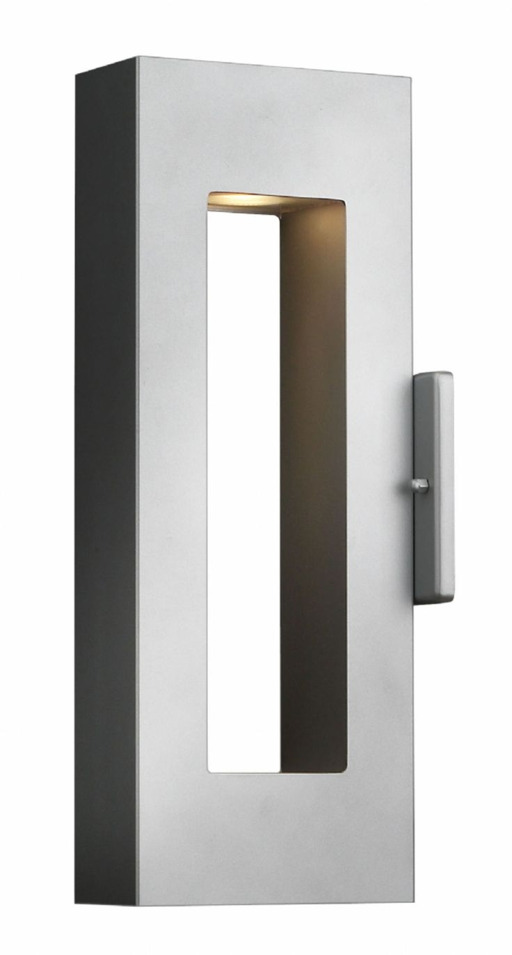 Inspiration about 13 Best G Exterior Images On Pinterest | Appliques, Led Wall Sconce Regarding Modern And Contemporary Outdoor Lighting Sconces (#12 of 15)