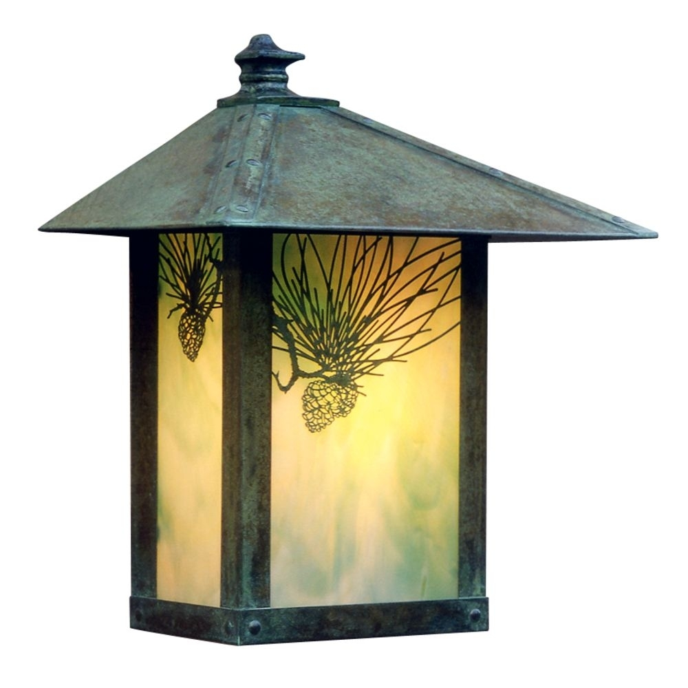 Inspiration about 13 Inch Outdoor Wall Light | Ew 12Pf Vp Gw (Qs) | Destination Lighting Inside Craftsman Outdoor Wall Lighting (#4 of 15)