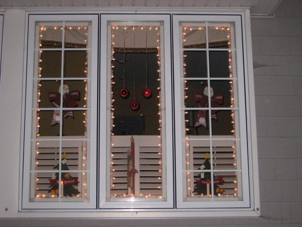 Inspiration about 15 Places To Hang Christmas Lights Easily – The Listify Inside Hanging Outdoor Christmas Lights Around Windows (#3 of 15)