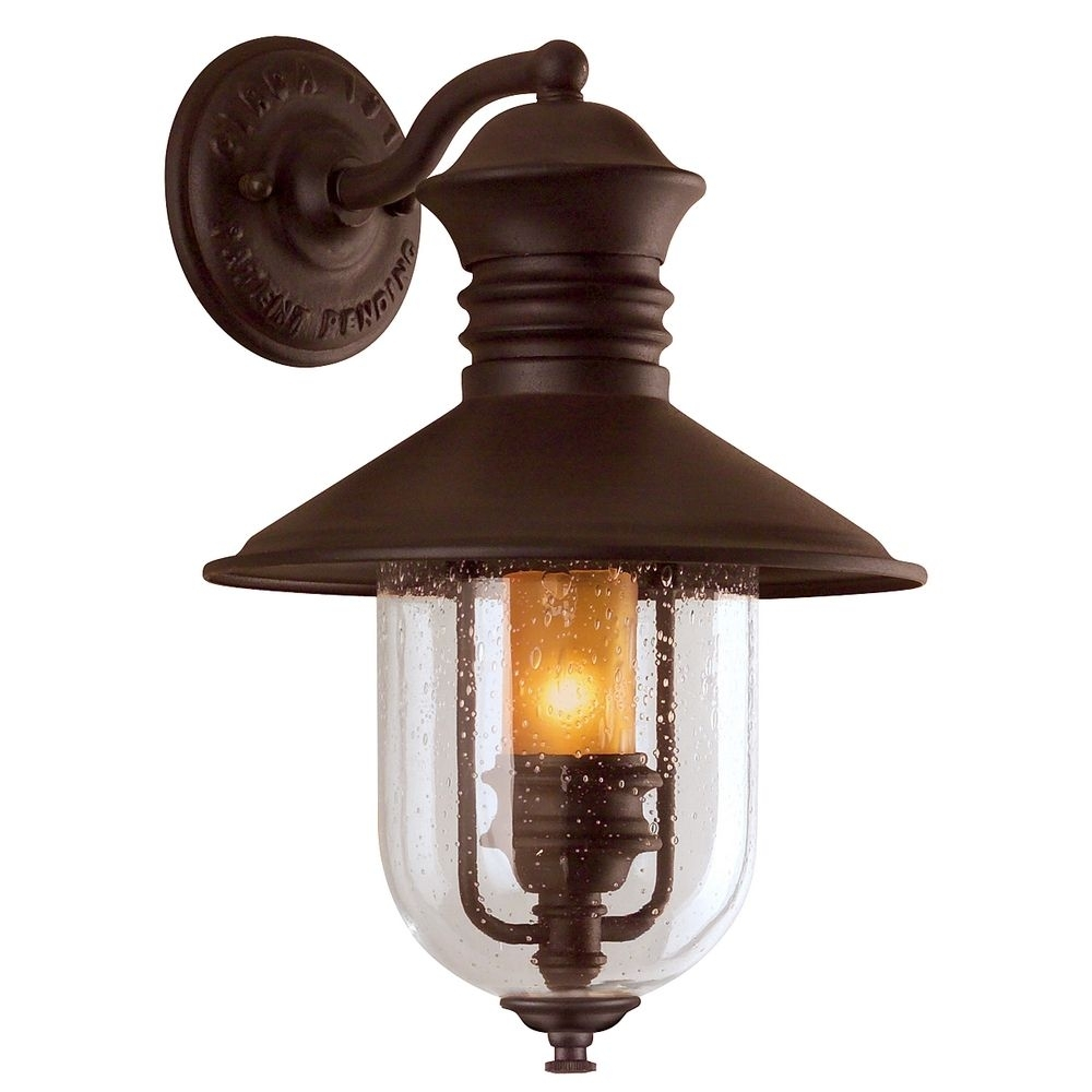 Inspiration about 16 Inch Outdoor Wall Light | B9360Nb | Destination Lighting Pertaining To Rustic Outdoor Lighting At Wayfair (#10 of 15)