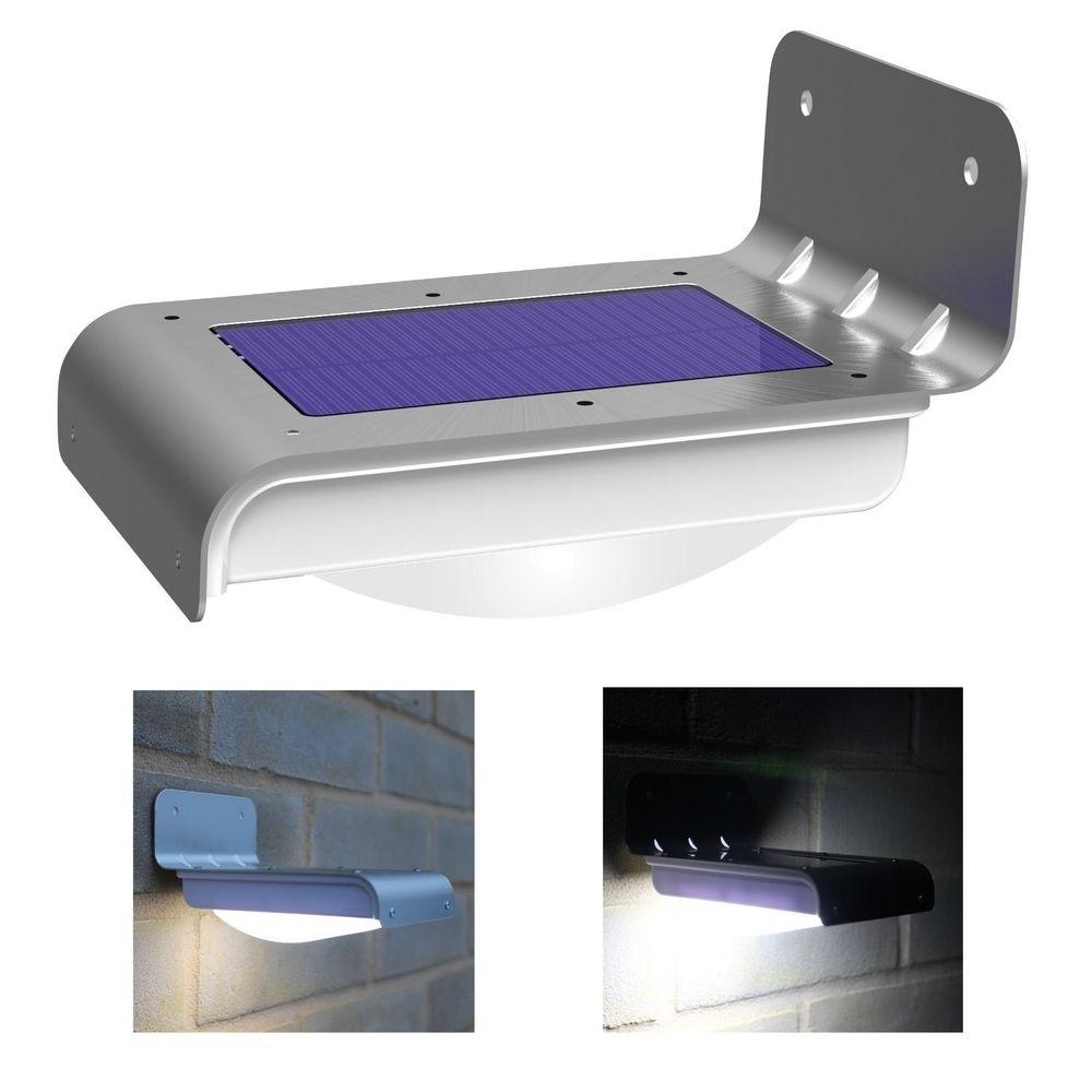 16 Led Solar Power Motion Sensor Garden Security Lamp Outdoor With Regard To Solar Outdoor Lighting (#1 of 15)