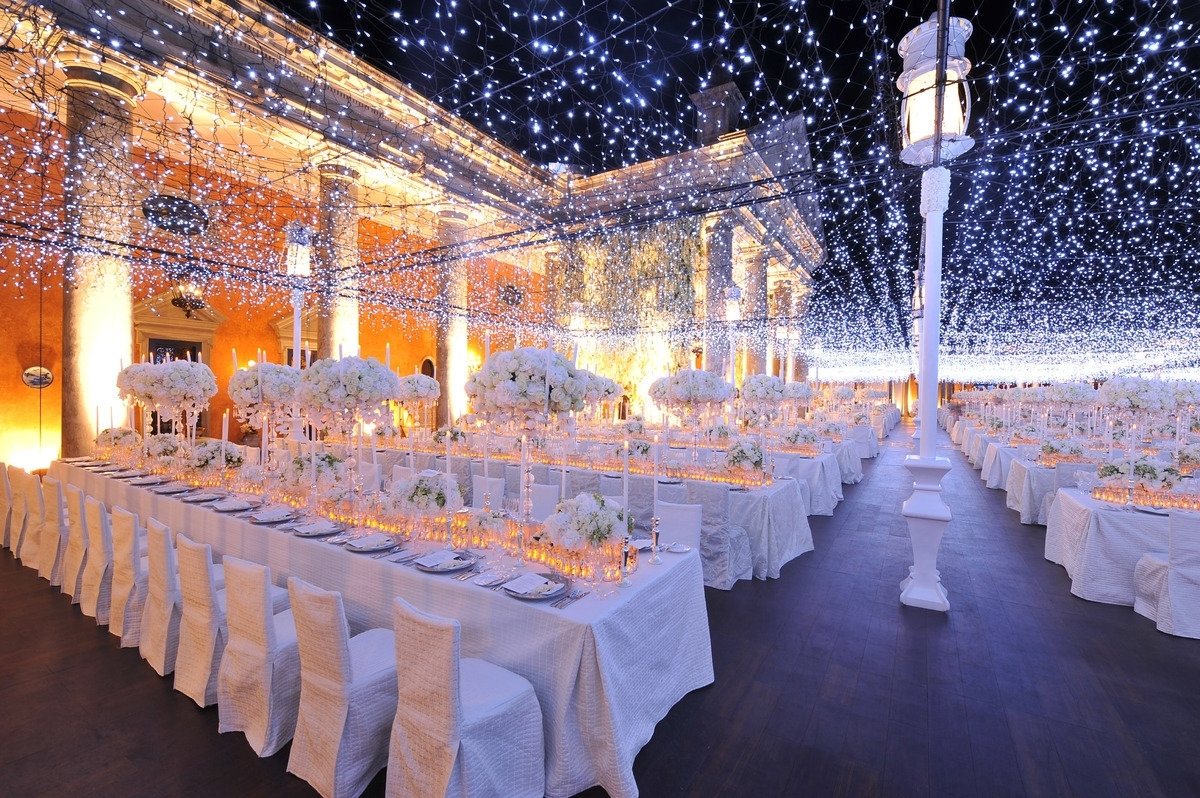 Inspiration about 19 Wedding Lighting Ideas That Are Nothing Short Of Magical | Huffpost Inside Hanging Lights For Outdoor Wedding (#14 of 15)