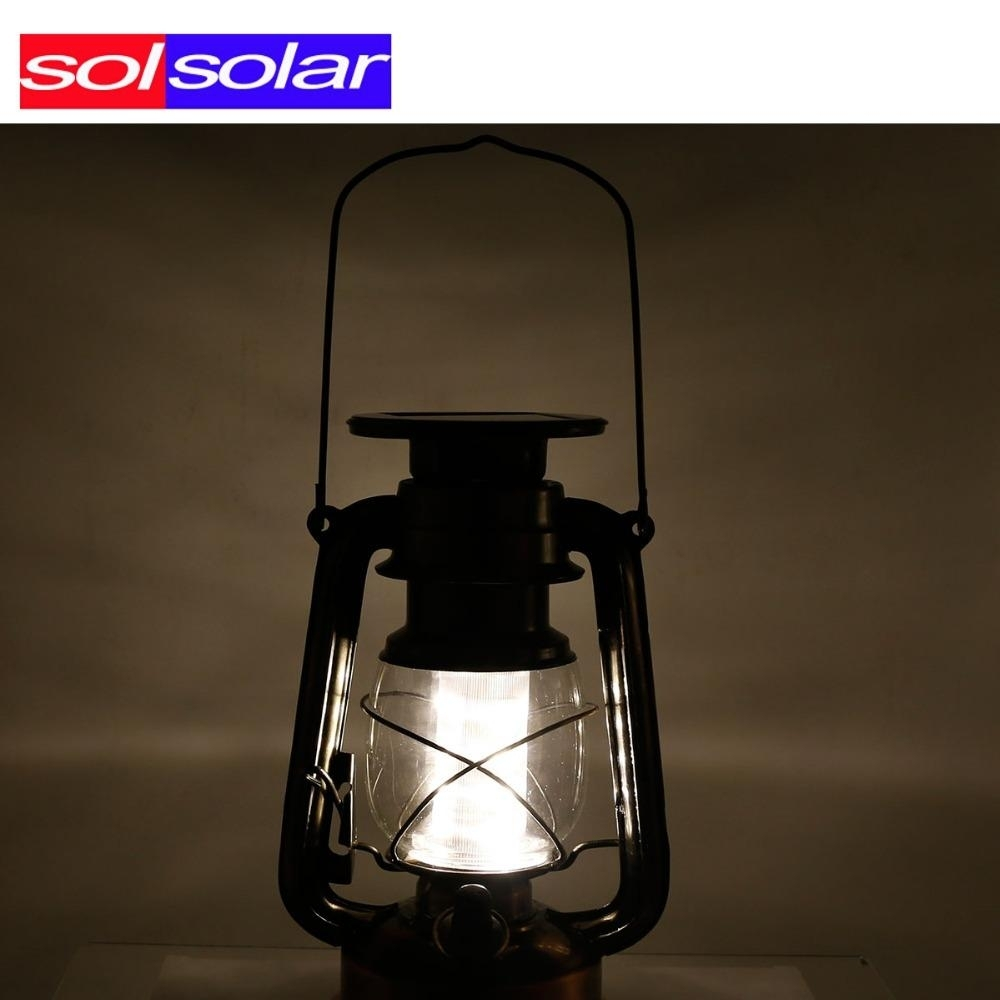 2018 Wholesale Led Solar Lantern Classic Solar Power Led Solar Light With Outdoor Hanging Solar Lanterns (#1 of 15)