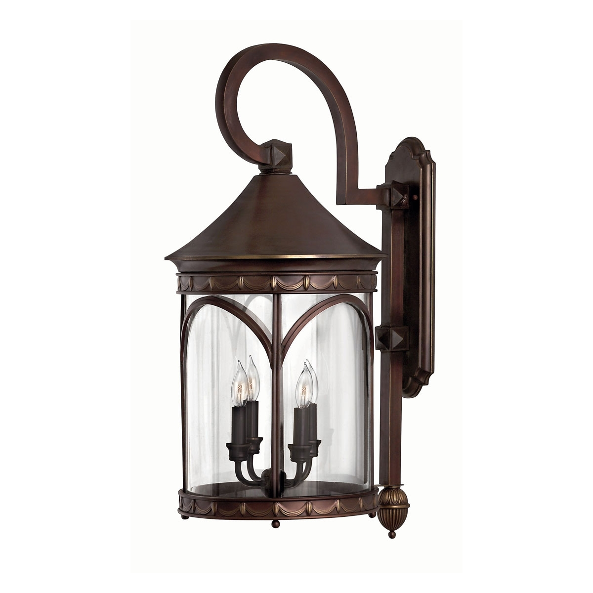 Inspiration about 2315Cb – Large Wall Outdoor Light, 30 Inch, Lucerne Copper Bronze For Extra Large Wall Mount Porch Hinkley Lighting (#3 of 15)