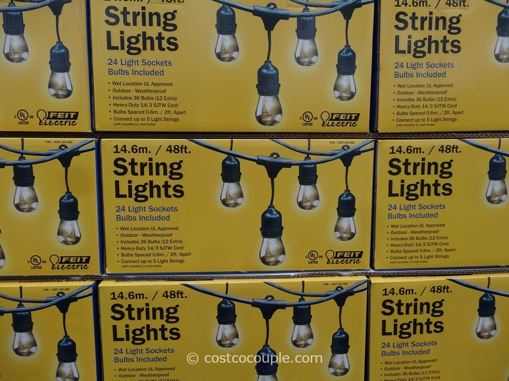 Inspiration about 24 Popular Outdoor String Lights Costco – Pixelmari Within Hanging Outdoor String Lights At Costco (#6 of 15)