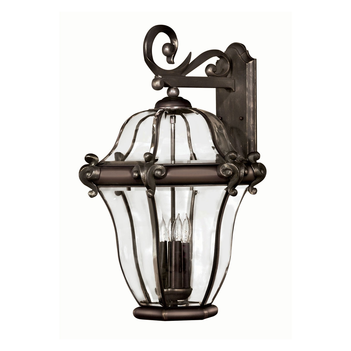 2446cb – X Large Outdoor Wall Light, San Clemente Copper Bronze Inside Extra Large Outdoor Wall Lighting (View 4 of 15)