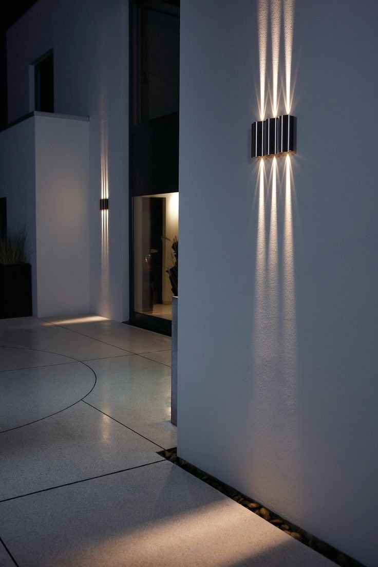 Inspiration about 25 Best Licht Images On Pinterest | Light Design, Light Fixtures And With Outdoor Wall Mounted Accent Lighting (#2 of 15)
