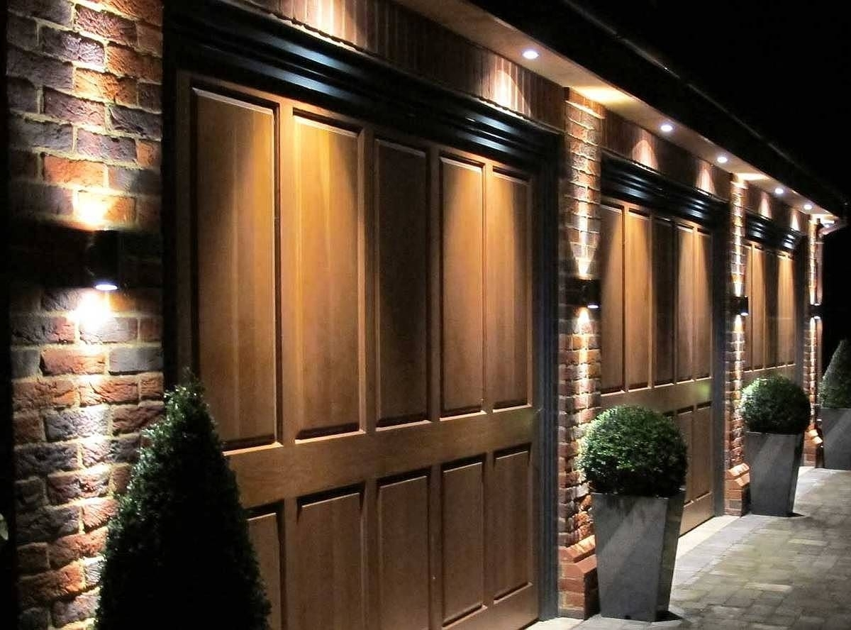 Popular Photo of Outdoor Wall Garage Lights