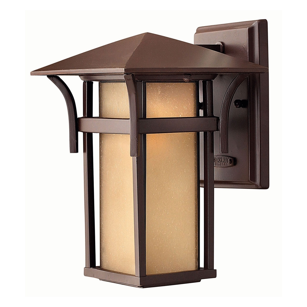 Inspiration about 2570Ar – Small Outdoor Medium Wall Light, Anchor Bronze | Hinkley Pertaining To Bronze Outdoor Wall Lighting (#7 of 15)