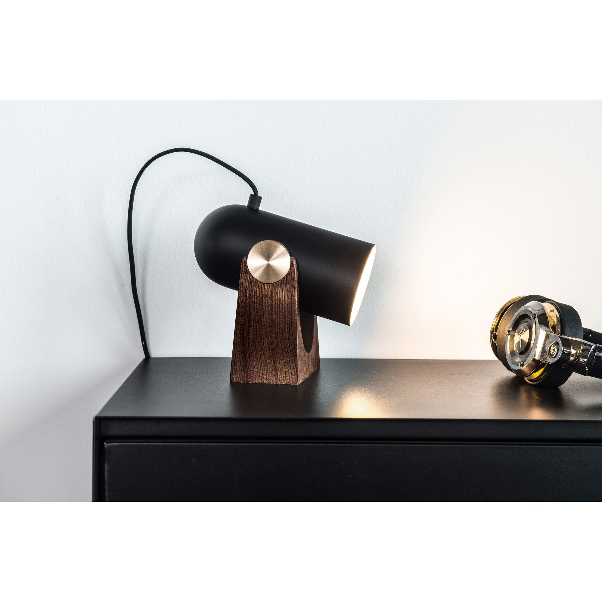 Inspiration about 260 Carronade Table/wall Lamp – Black | Skandium With Rona Outdoor Wall Lighting (#4 of 15)